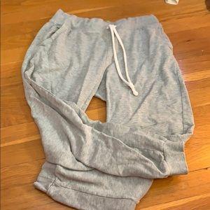 Grey sweats